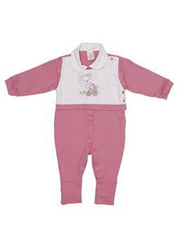 Macacao-Infantil-Para-Bebe-Menina---Branco-rosa-P