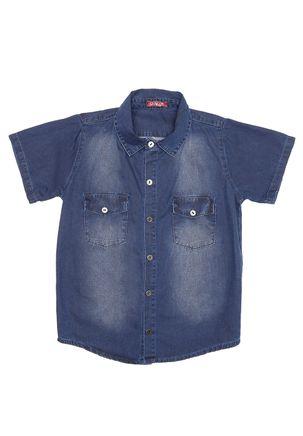 Camisa-Jeans-Manga-Curta-Juvenil-Para-Menino---Azul-16