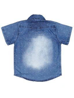 Camisa-Jeans-Manga-Curta-Infantil-Para-Menino---Azul-6