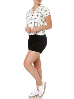 Camisa-Manga-Curta-Feminina-Autentique-Off-White-preto-P