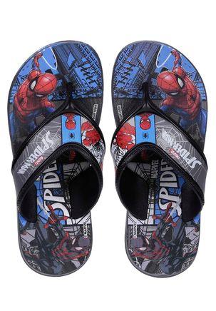 Chinelo-Spider-Man-Infantil-Para-Menino---Cinza-preto-azul-25