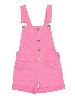 Macacao-Jardineira-Sarja-Infantil-Para-Menina---Rosa-1
