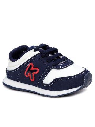 Tenis-Klin-Infantil-Para-Bebe-Menino---Branco-azul-Marinho-17