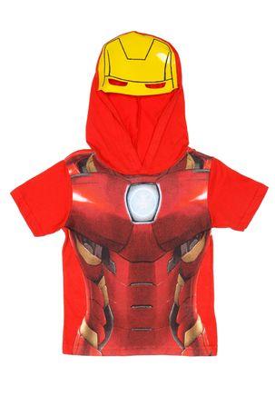 Camiseta-Manga-Curta-Avengers-Infantil-Para-Menino---Vermelho-6