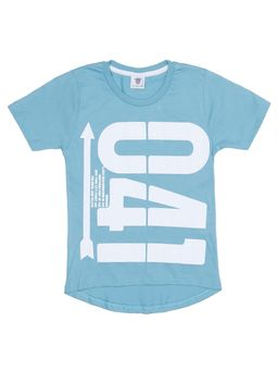 5f3737a733 Camiseta Manga Curta Alongada Infantil Para Menino - Verde
