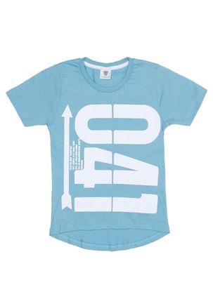 Camiseta-Manga-Curta-Alongada-Infantil-Para-Menino---Verde-6