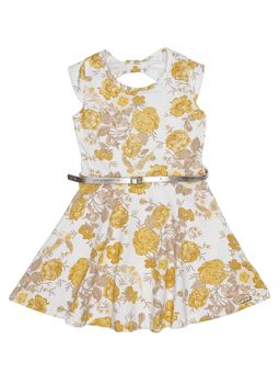 Vestido-Infantil-Para-Menina---Amarelo-1