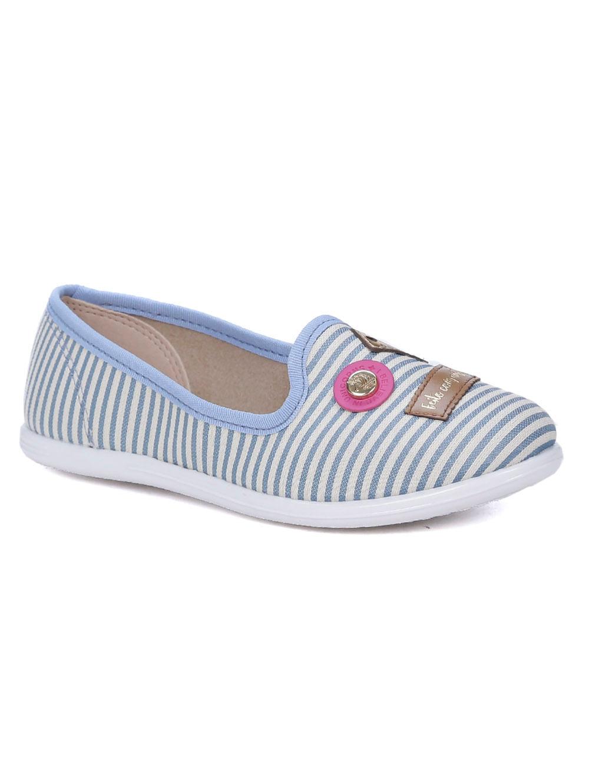 acb75d192 Sapatilha Molekinha Infantil Para Menina - Azul - Lojas Pompeia