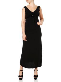 Vestido-Longo-Feminino-Preto-P