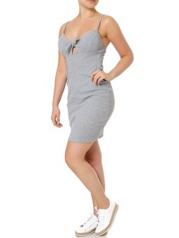 Vestido-Feminino-Autentique-Cinza-P