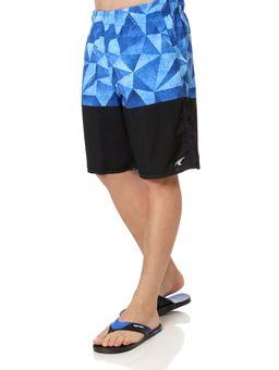 Bermuda-Praia-Masculina-Federal-Art-Azul-preto