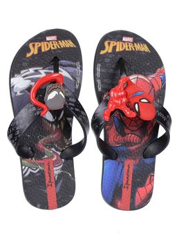 Chinelo-Homem-Aranha-Infantil-Para-Menino---Vermelho-preto-25-26