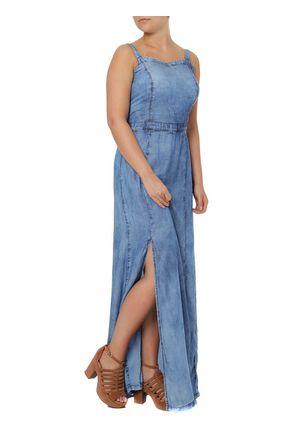 Vestido-Jeans-Longo-Feminino-Azul-P