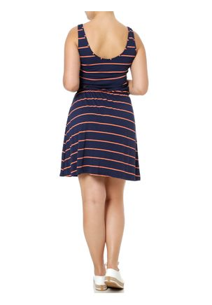 Vestido-Curto-Feminino-Rovitex-Azul-Marinho