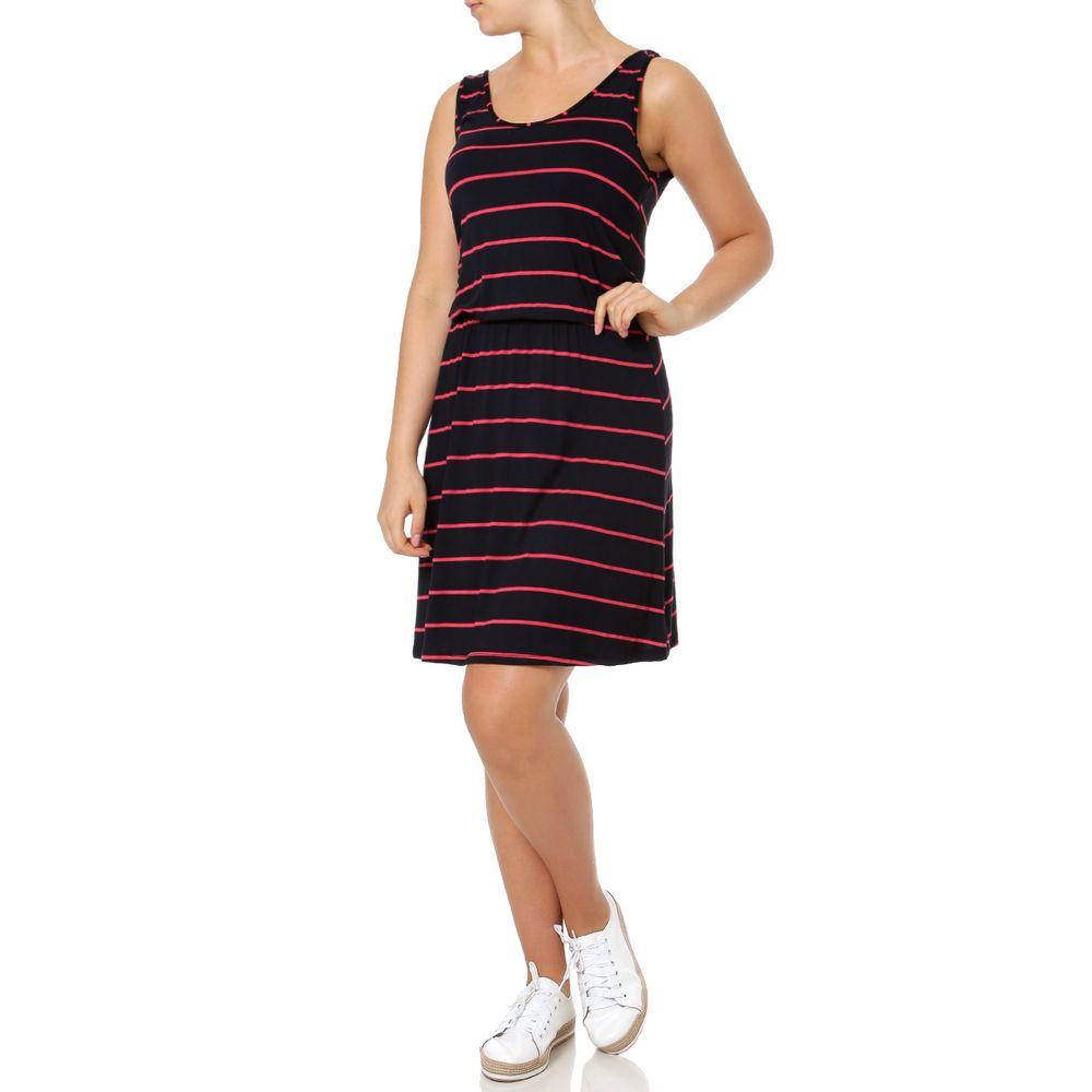Vestido Curto Feminino Rovitex Preto - Lojas Pompeia cb01573a0b