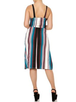 Vestido-Midi-Feminino-Multicolorido-P