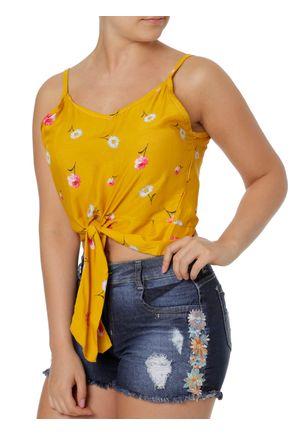 Blusa-Regata-Feminina-Amarelo-P