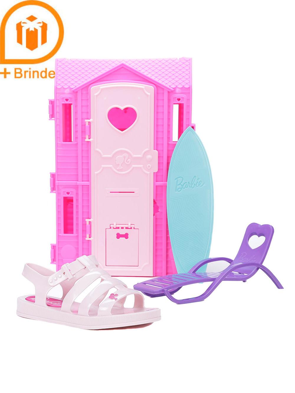 2d5081a56a Sandália Barbie Infantil Para Menina - Rosa Claro - Lojas Pompeia