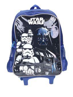 Mochila-Escolar-Star-Wars-Infantil-Para-Menino---Azul