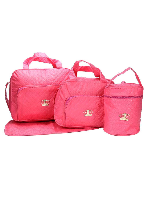 0d42676e25 Kit Bolsa Maternidade Coral - Lojas Pompeia