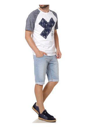 Camiseta-Manga-Curta-Masculina-Full-Surf-Branco-azul-P