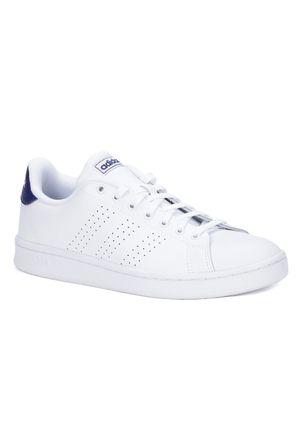 Tenis-Casual-Masculino-Adidas-Advantage-Branco-38