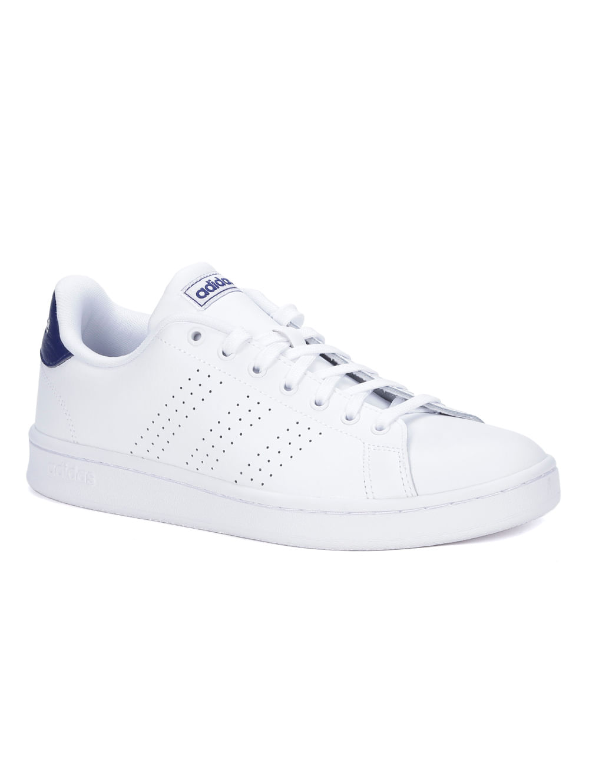 c4b90f0a3a Tênis Casual Masculino Adidas Advantage Branco - Lojas Pompeia