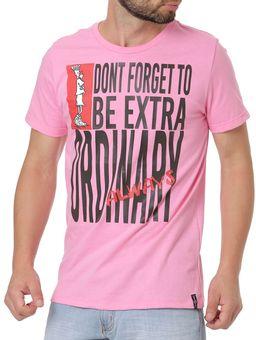 Camiseta-Manga-Curta-Masculina-Fido-Dido-Rosa-P
