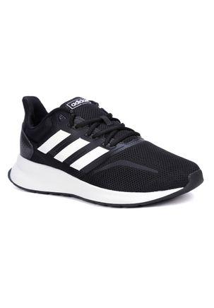 Tênis Esportivo Masculino Adidas Falcon Preto c0c69a7fe7982