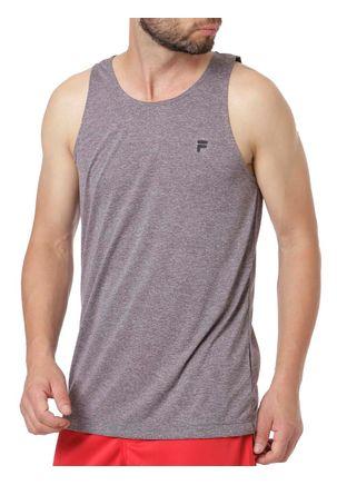 Camiseta-Regata-Masculina-Fila-Cinza-P