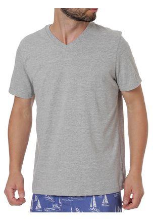 Camiseta-Manga-Curta-Masculina-Habana-Cinza-P