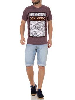 Camiseta-Manga-Curta-Masculina-Bordo-P