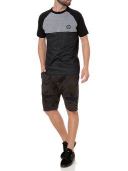 Camiseta-Slim-Fit-Manga-Curta-Masculina-Occy-Cinza-preto