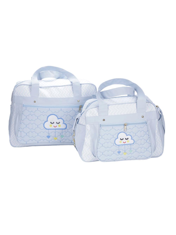 6d59d2a93 Kit Bolsa Maternidade Azul - Lojas Pompeia