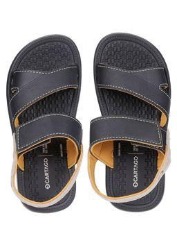 Sandalia-Cartago-Infantil-Para-Menino---Preto-amarelo-28