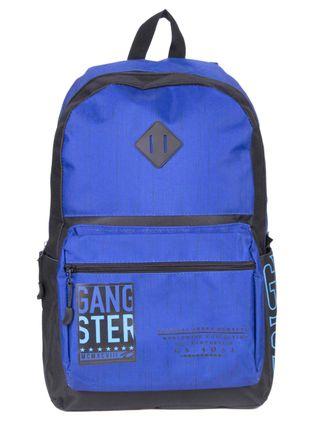 Mochila-Masculina-Gangster-Azul