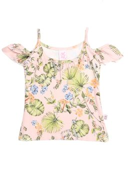 Blusa-Manga-Curta-Infantil-Para-Menina---Rose-1