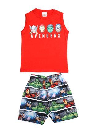 Conjunto-Avengers-Infantil-Para-Menino---Vermelho-cinza-6