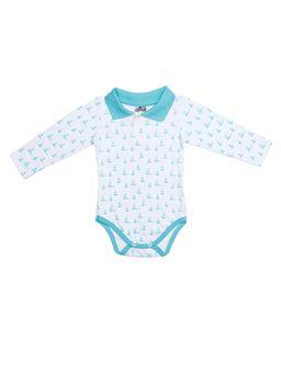 Body-Flik-Infantil-para-Bebe-Menino---Branco-verde