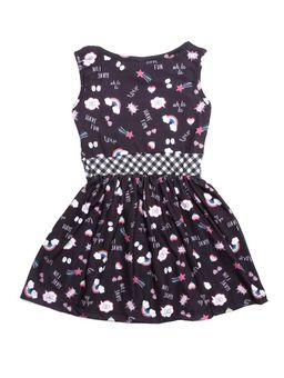 Vestido-Infantil-para-Menina---Preto