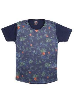 Camiseta-Manga-Curta-Alongada-Juvenil-Para-Menino---Azul-Marinho-16