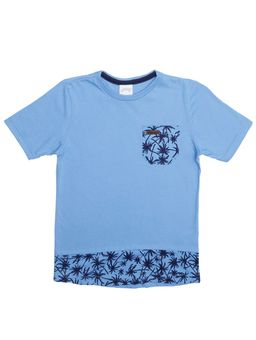 Camiseta-Manga-Curta-Alongada-Infantil-Para-Menino---Azul-6