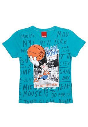 Camiseta-Manga-Curta-Disney-Infantil-Para-Menino---Verde-1