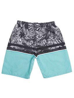 Bermuda-Praia-Infantil-Para-Menino---Preto-verde-6