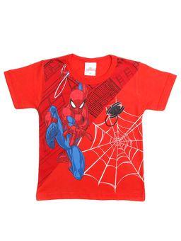 Camiseta-Manga-Curta-Spider-Man-Infantil-Para-Menino---Vermelho-1