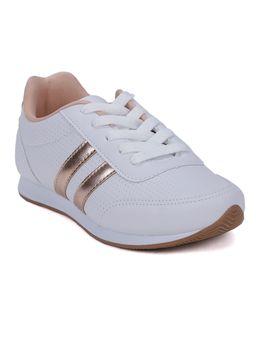 Tenis-Casual-Infantil-Para-Menina---Branco-cobre