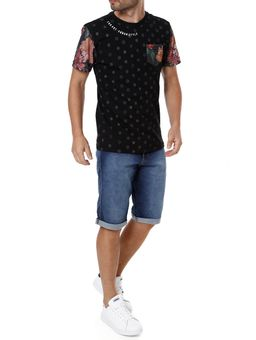 Camiseta-Manga-Curta-Masculina-Federal-Art-Preto-P