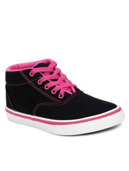Tenis-Casual-Feminino-Teen-Mid-Preto-pink-34