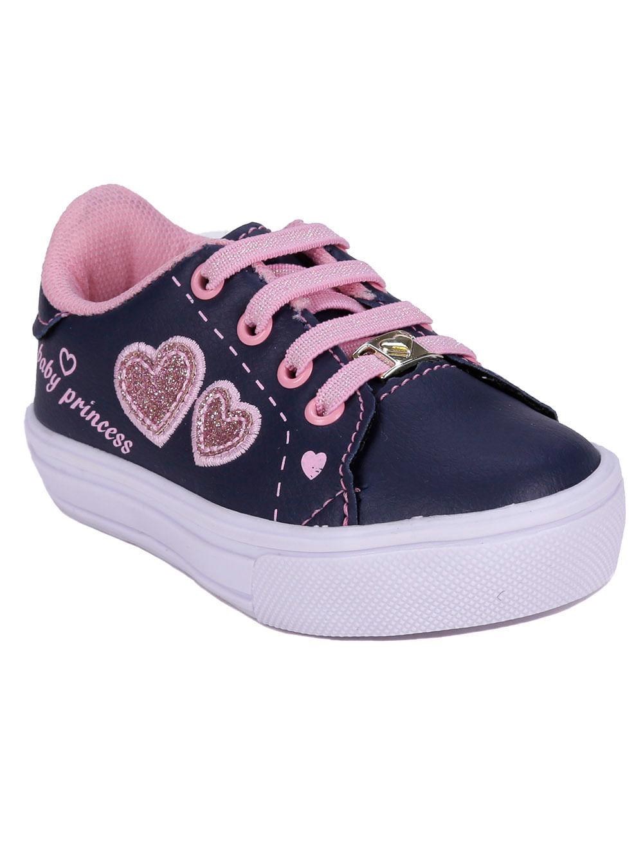 b7e639ecb09 Tênis Infantil Para Bebê Menina - Azul rosa - Lojas Pompeia
