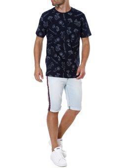 Camiseta-Manga-Curta-Masculina-Azul-Marinho-M